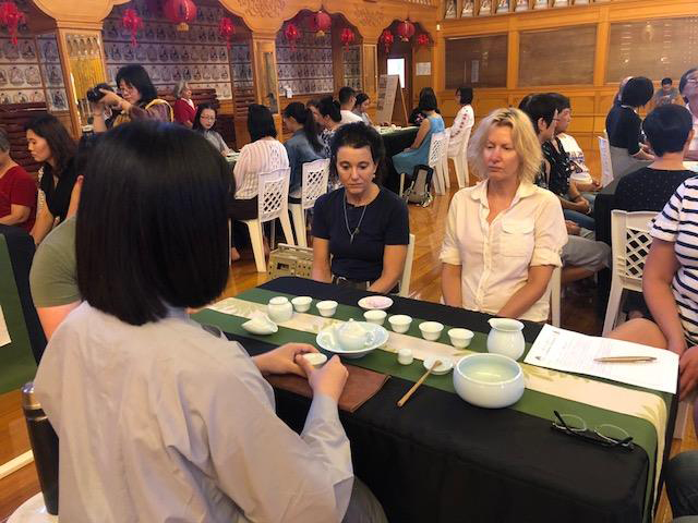 A Harmony Week event at Fo Guang Shan Temple in 2017.