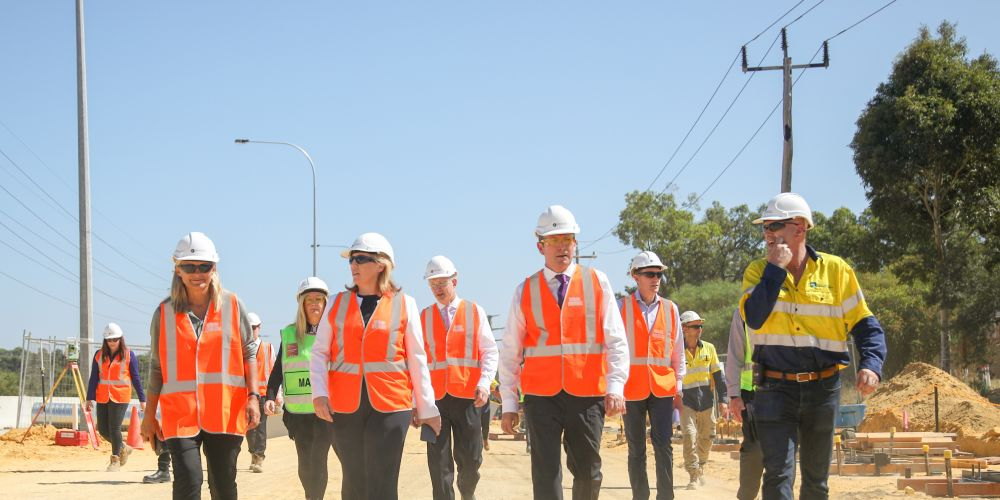 Wanneroo Road is being widened.