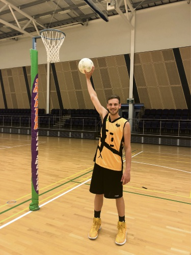 Blake Smith will represent WA in mixed netball. About 80 players trialled for teams.