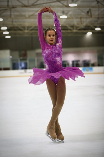 Award-winning figure skater Sofia O'Kane. . Picture: Andrew Ritchie    d479994