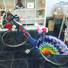 Helga returns: Bassendean's Tasty Pear gets back its stolen bicycle mascot