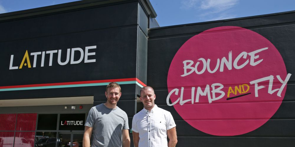 Owner and director Peter Lang and venue manager Paul Brownrigg. Picture: Martin Kennealey d480540