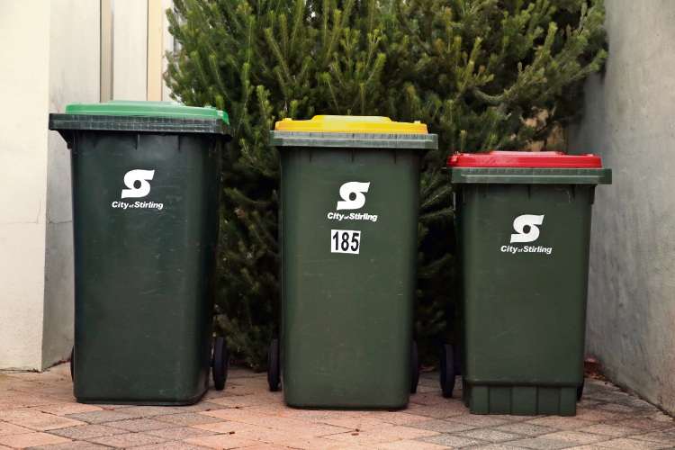 The City of Joondalup will consider moving to a three-bin system similar to that in the City of Stirling.