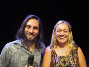 End of Fashion frontman Justin Burford and Shel Lambeck (Mullalloo) who is taking a lead vocalist role this year.