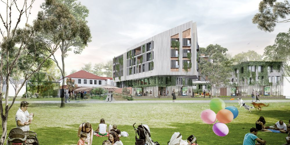 Fini Group's proposal to re-adapt Victoria House in the Montario Quarter in Shenton Park.