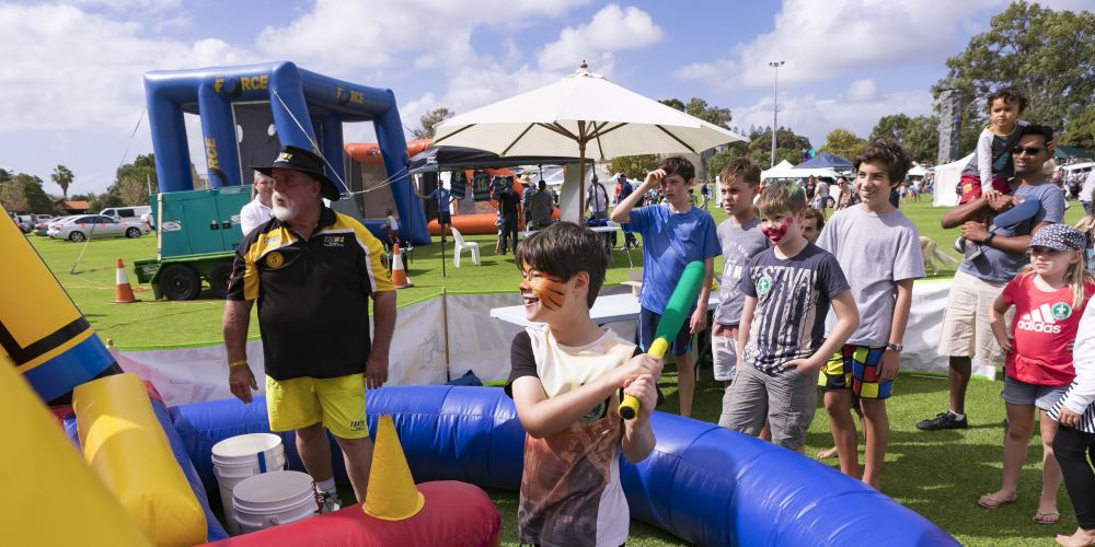 Children have a more activities at the Mosman Park Community Fair this Sunday.