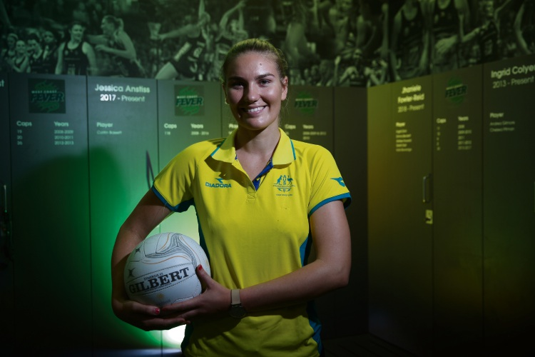 West Coast Fever defender Courtney Bruce is excited to represent her country at the Commonwealth Games