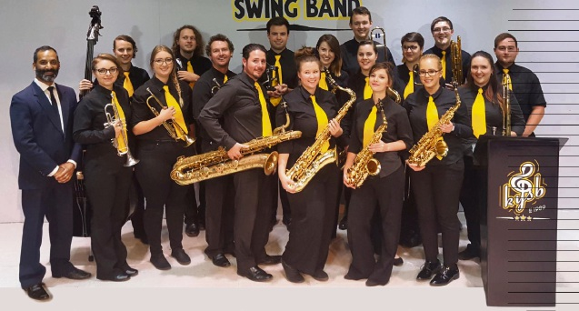 The Kalamunda Youth Swing Band is tuning up for the annual autumn dance.