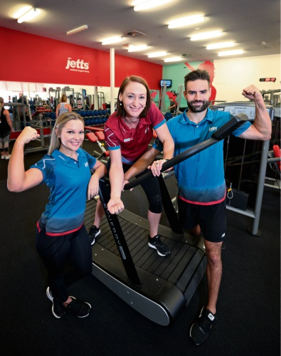 Ellenbrook gym receives Blood Service WA Plasma Growth Award
