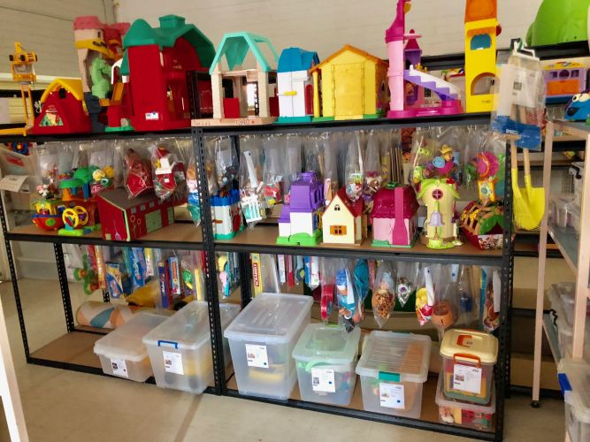 Rockingham and Districts Toy Library.