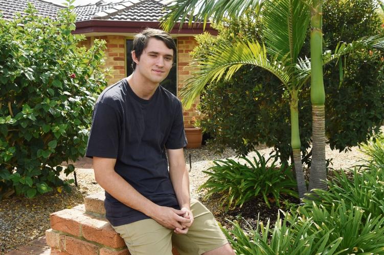 Ezekiel Chapman (18) is struggling to find a plumbing apprenticeship.