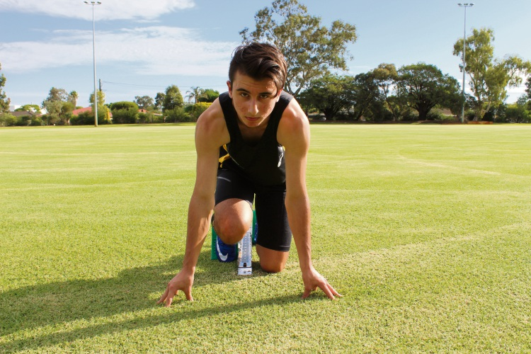 Antoine Vargiolu is working towards a goal of competing at the Olympics or Commonwealth Games.