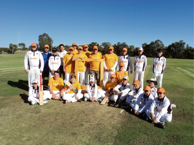 Northam Junior Cricket Association players get fresh uniforms