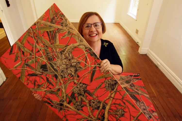 Artist Judy Rogers will exhibit at the Vic Park Arts Season during April.