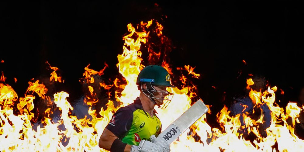 D'Arcy Short playing for Australia. Picture: Scott Barbour/Getty Images