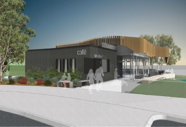 Artist impressions of the proposed restaurant for Burns Beach.
