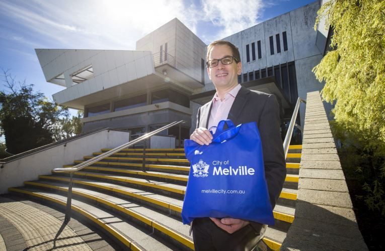 Residents could be provided with reusable shopping bags by the City of Melville to help them transition away from single-use plastic after a motion was put forward by councillor Tim Barling. Picture: Matt Jelonek