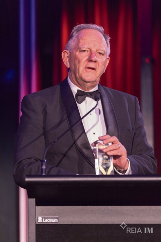 David Airey received the prestigious President's Award at the REIA national awards for excellence