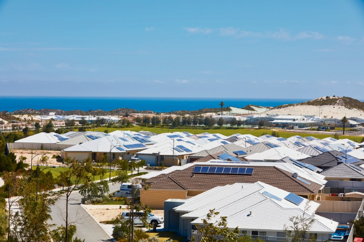 Alkimos Beach was named best residential development at the UDIA National Awards for Excellence