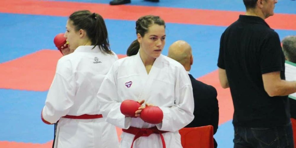 Rebecca Sullivan was one of three West Coast Karate members selected to represent Australia at the Oceania Championships.