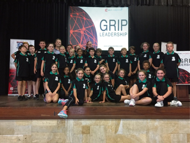 Halls Head students at GRIP Student Leadership Conference