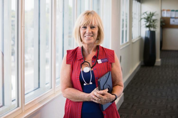 WA Nursing and Midwifery Excellence Awards nominee Susan Pettigrew.