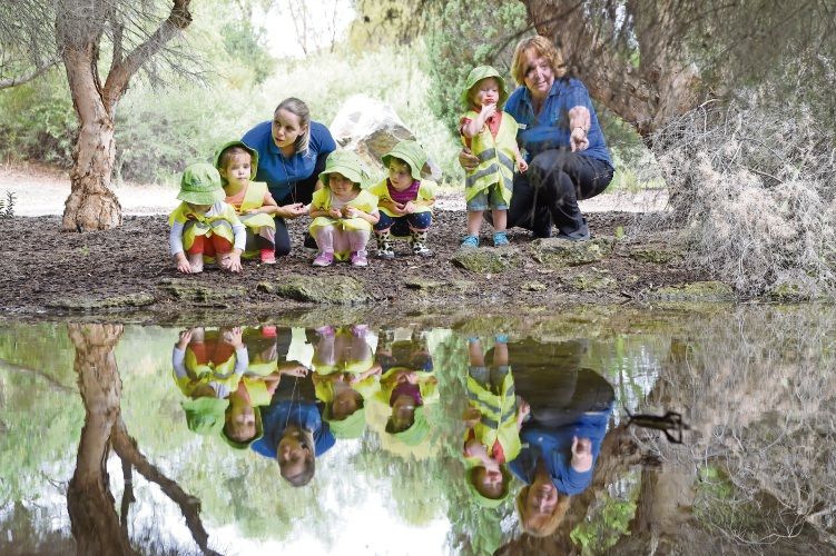 Olivia Gie, Mikyla Austin, Maria Dose , Aidan Marshallsay, Peta Sharp, Zoe Riley and Millie Joseph. Picture: Jon Hewson d481101