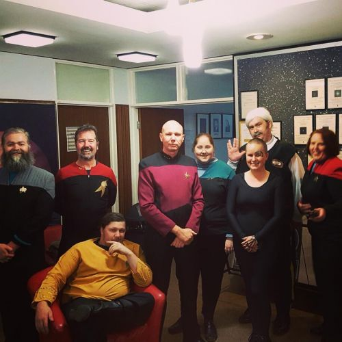 Star Trek night at Perth Observatory