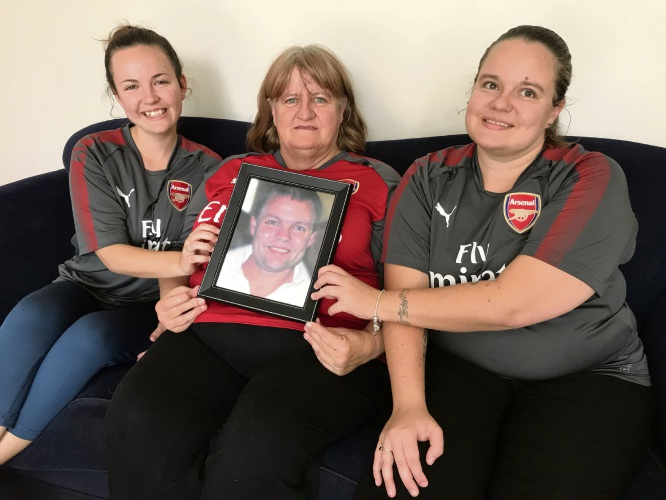 Billie-Lee, Margaret and Courtney Best-Read will take part in the HBF Run for a Reason to raise money for the Heart Foundation in memory of Darren Best-Read.