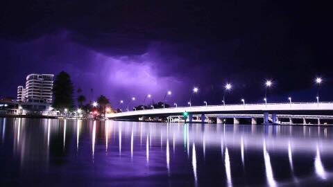 Mandurah's new $50 million bridge allegedly marred by teen graffiti vandals