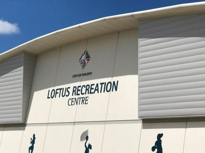 Loftus Recreation Centre.