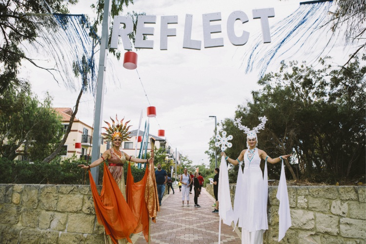 'Perform Create Reflect' was the theme for this year's Joondalup Festival. Picture: Adam Nalapraya