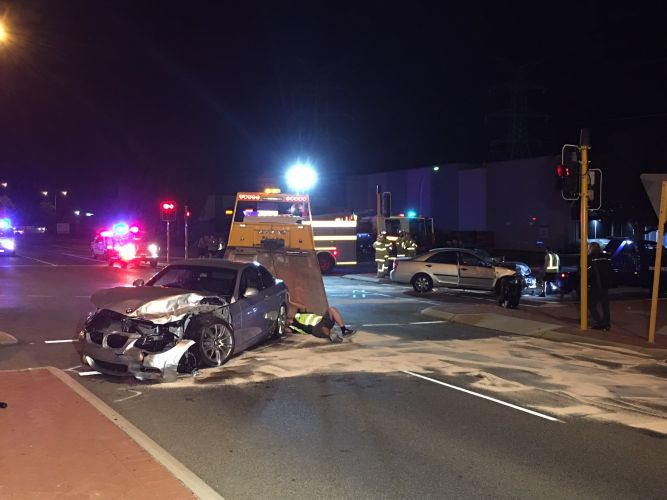 Three-year-old boy among six injured in Malaga crash overnight
