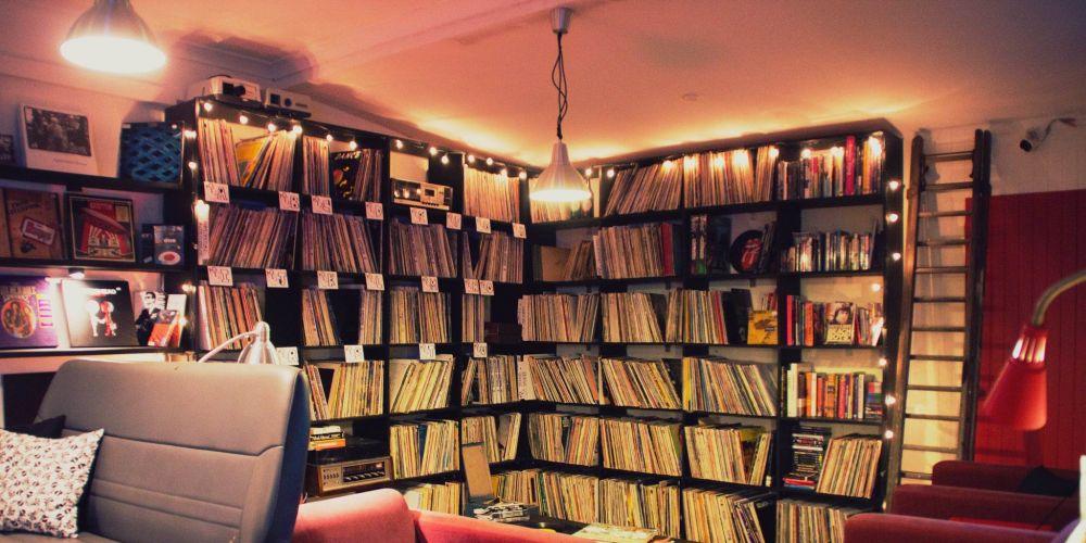 Fat Shan Records. Pictures: John Aliaga