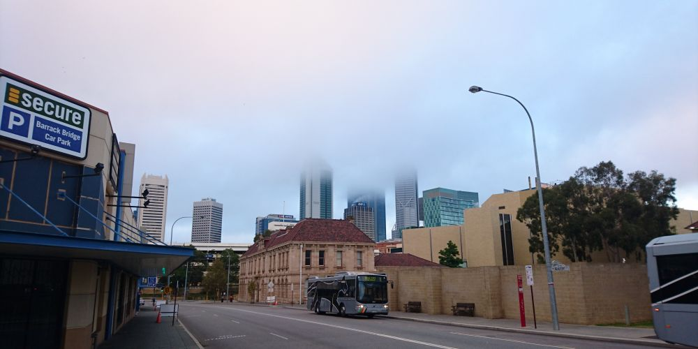 Road weather alert issued for Perth due to fog