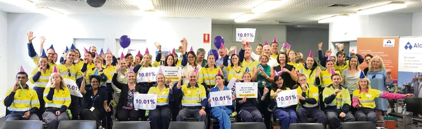 Alcoa's Pinjarra refinery reaches female employee milestone