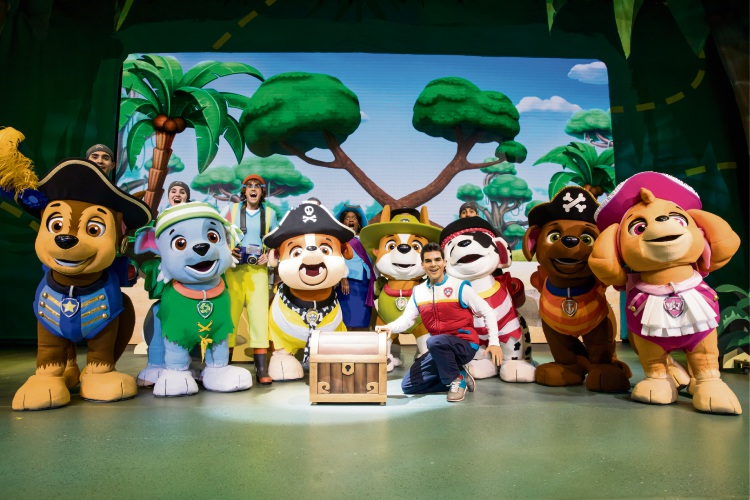 Paw Patrol Live: The Great Pirate Adventure.