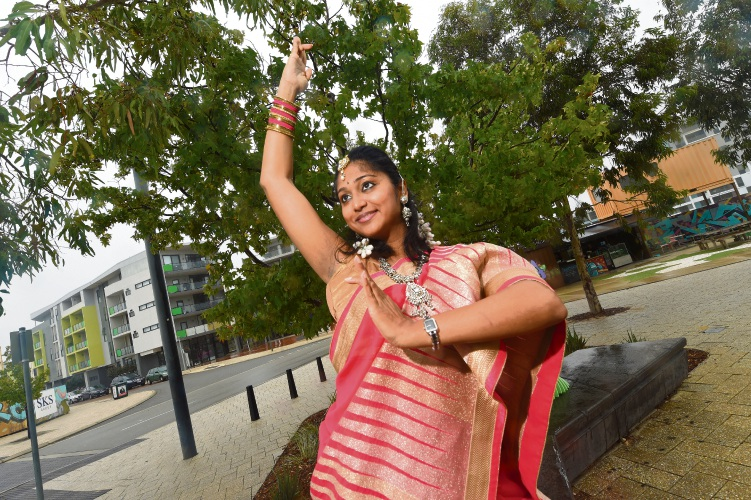 D'Nakka Fitness and Dance owner Amutha Kumar will have two performers at the Bollywood dinner and dance evening on April 21. Picture: Jon Hewson