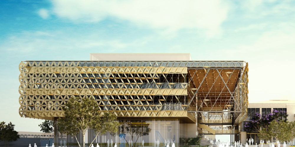An artist's impression of the new EZONE UWA building. Picture: Supplied