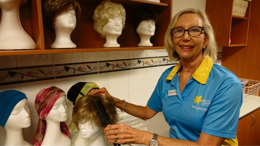 Christine Bilsborough, Cancer Council WA volunteer.