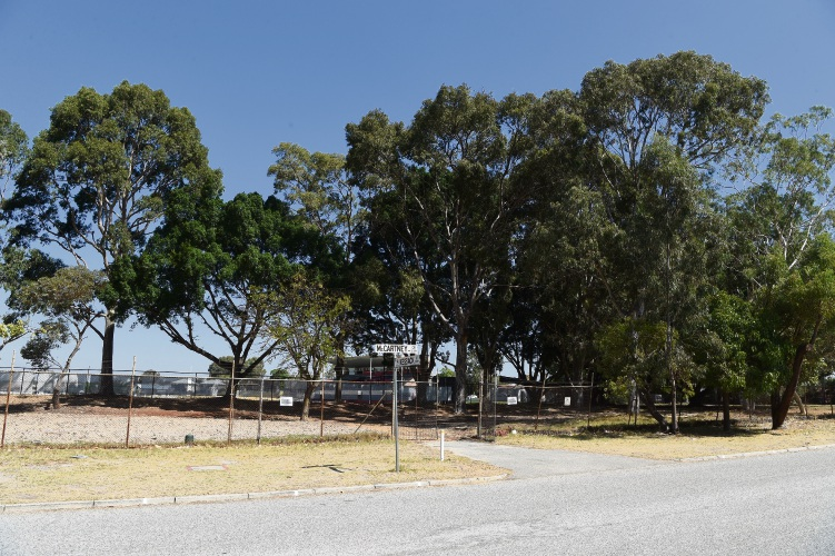 The West Coast Eagles will begin a pruning program at Lathlain Park. Picture: Jon Hewson d481414