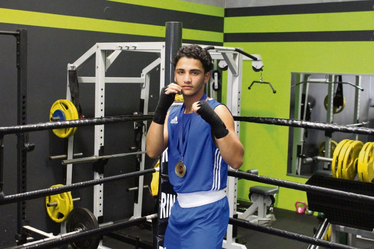 National 52kg Under-19 boxing champion Yusuf Chothia. Picture: Ben Smith