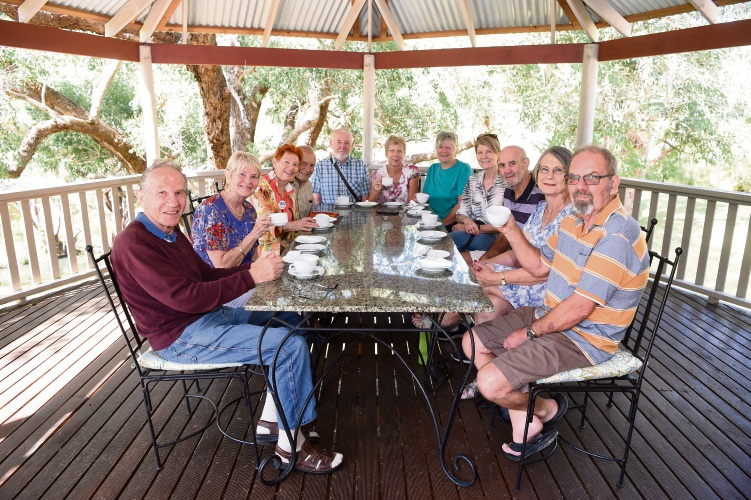 Forget-Me-Not Memory Cafe group participants. Picture: Jon Hewson d480711