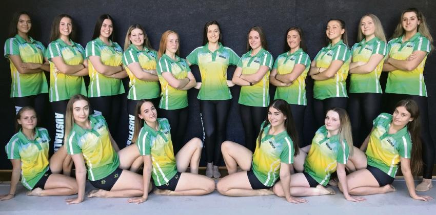 Team Australia Pom Dance.