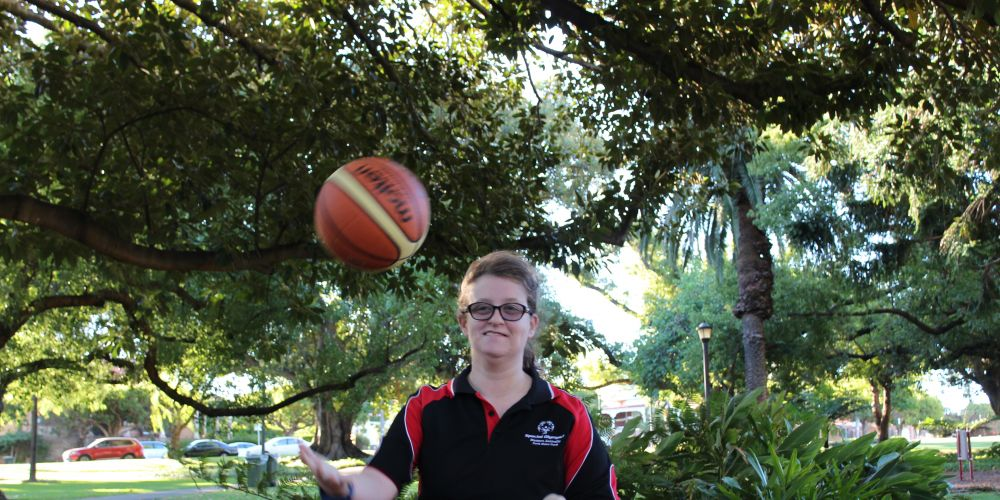 Basketball player Emilie Davies will compete in the Special Olympics Australia (SOA) National Games.