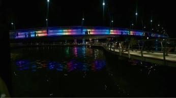 The new Mandurah Bridge. Picture: Janette Larobina