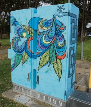 An example of a Splash of Colour installation completed at Australind.