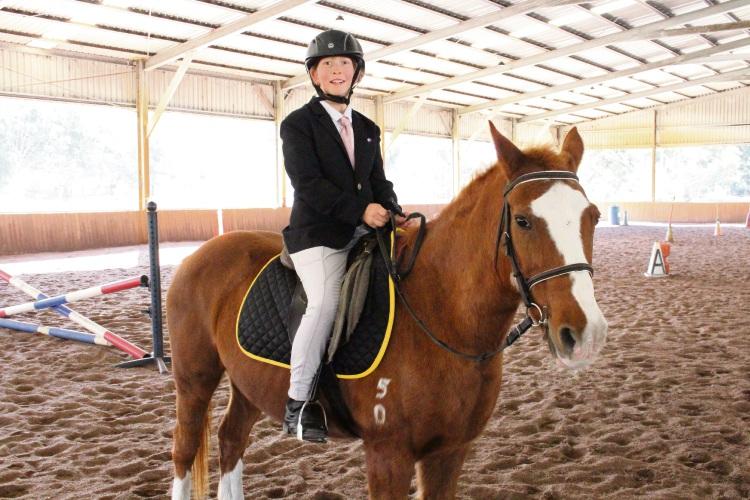 Kewdale resident Jasmin Steiner is enjoying success in eventing.