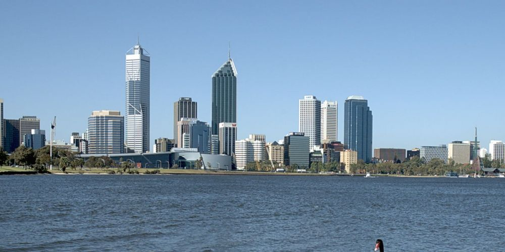 The Swan River.