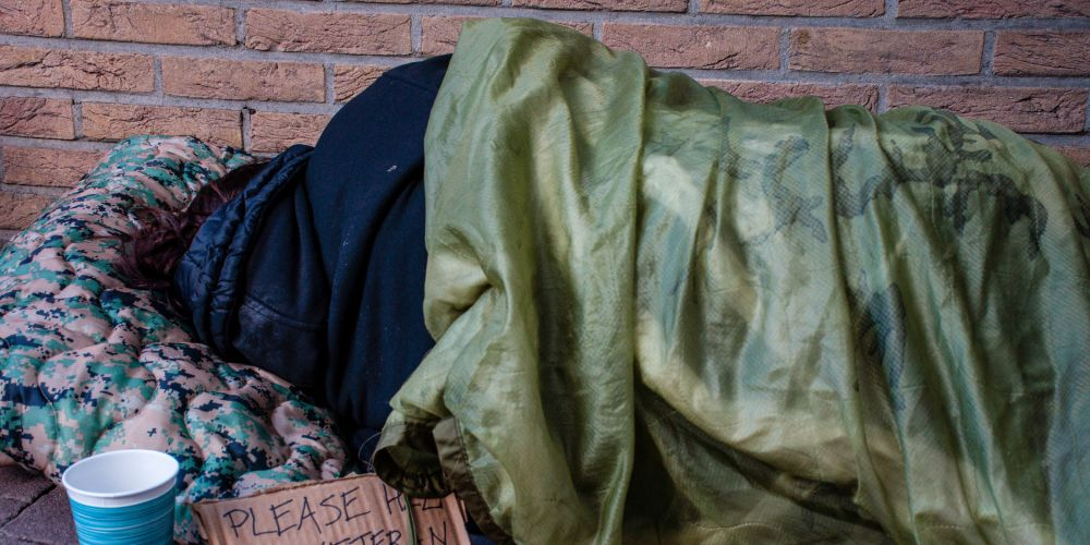 High numbers of veterans are sleeping rough in Australian cities. Picture: Stock image